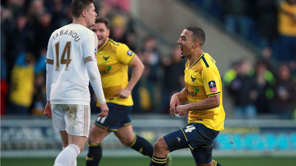 Swansea knocked out in FA Cup shock