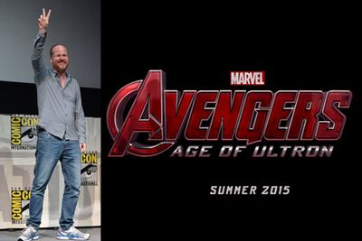 Director <b>Joss Whedon</b> unveiled the title and teaser for the <i>Avengers</i> sequel <i>Avengers: Age of Ultron</i>. <br/>