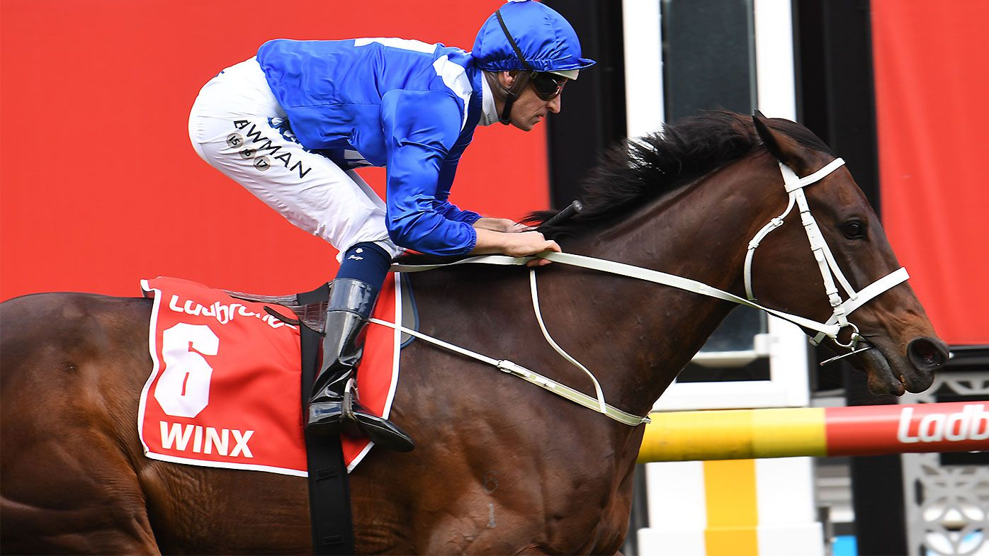 Winx takes out fourth consecutive Cox Plate win and 29th straight win overall