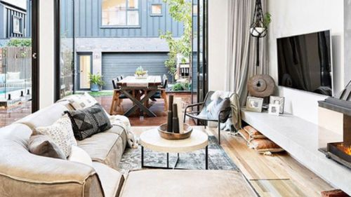 Inside the winning home. The duo 'stayed true to our style'.