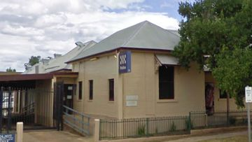 The man was taken to Tumut Police Station where he was charged .