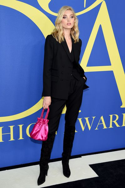 Elsa Hosk at the 2018 CFDA Awards