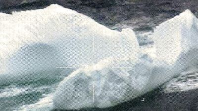 Surge in icebergs drifting into shipping lanes