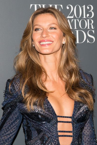 Supermodel Gisele Bündchen is known to swear by a glossy pink lipstick as her go-to shade.