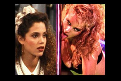Elizabeth who? The poor 90s <i>Saved By The Bell</i> TV brainiac wrecked her career by baring all and acting incredibly wooden in <i>Showgirls, </i>which scored her the dubious honour of not one, but two Razzie awards.