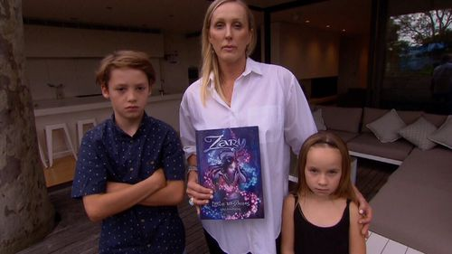 Kay Andrews published a self-help book for kids - only to find herself embroiled in a legal battle with fashion giant Zara.