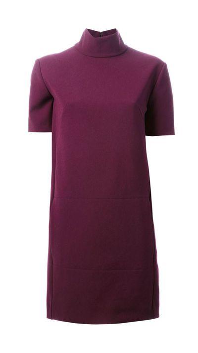 """<a href=""""http://www.farfetch.com/au/shopping/women/cedric-charlier-funnel-neck-shift-dress-item-10825194.aspx?storeid=9178&amp;ffref=lp_18_1_lst"""">Funnel Neck Shift Dress, $387.45, Cedric Charlier</a>"""