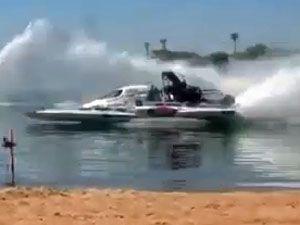 NITRO drag boat 'Problem Child'. (supplied)