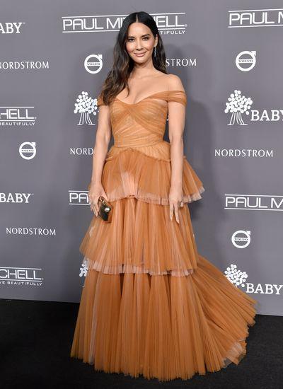 Actress Olivia Munn at the 2018 Baby2Baby Gala in Los Angeles, November, 2018