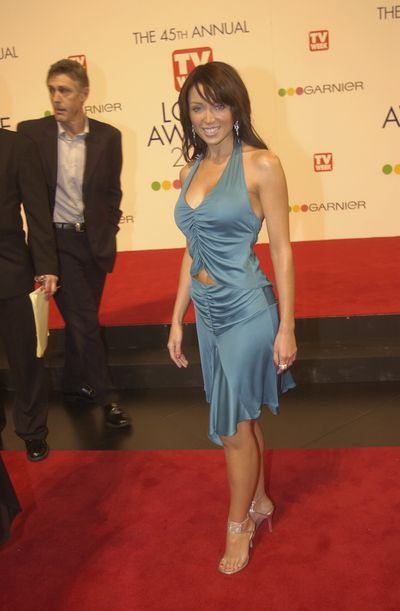 Dannii Minogue at the 45th Annual TV Week Logie Awards in Melbourne, March, 2003
