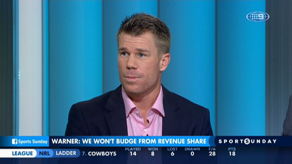 Warner opens up about CA pay dispute