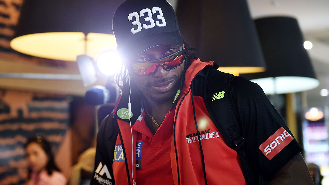 'Universe Boss' Chris Gayle sounds off on English cricket tournament