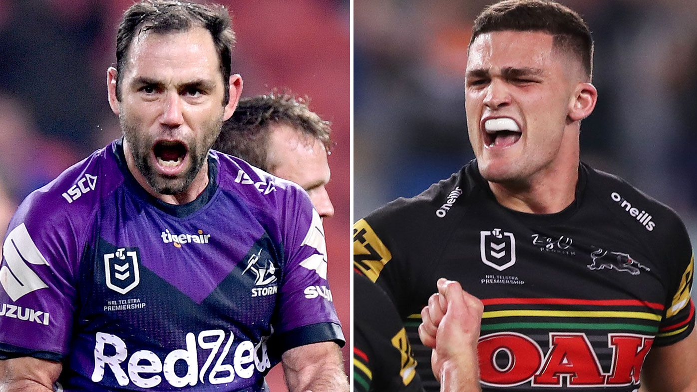 Cameron Smith and Nathan Cleary will lead their troops into battle in the 2020 NRL Grand Final. (Getty)