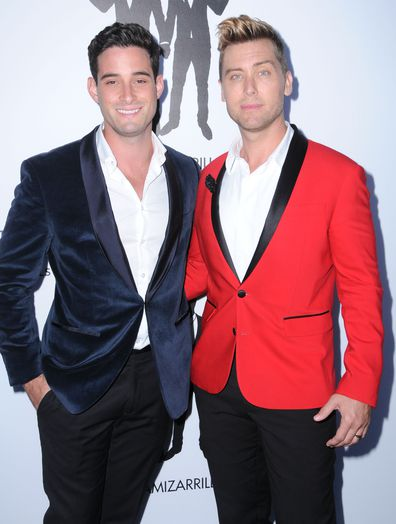 Lance Bass and husband Michael Turchin