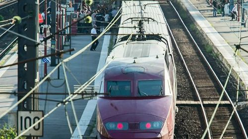 A gunman opened fire on a Thalys train in August. (9NEWS)