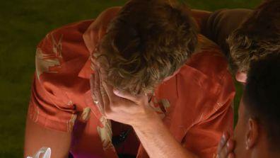 Love Island UK 2021 Hugo tears