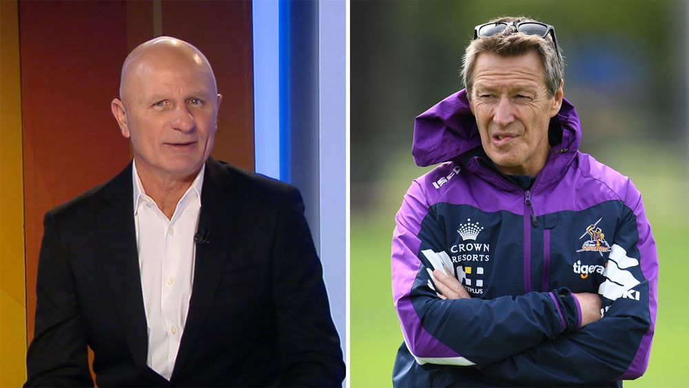 Melbourne Storm coach Craig Bellamy can be mentioned in same breath as Jack Gibson, says Peter Sterling