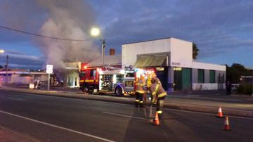 Historic butcher's shop destroyed in early morning blaze