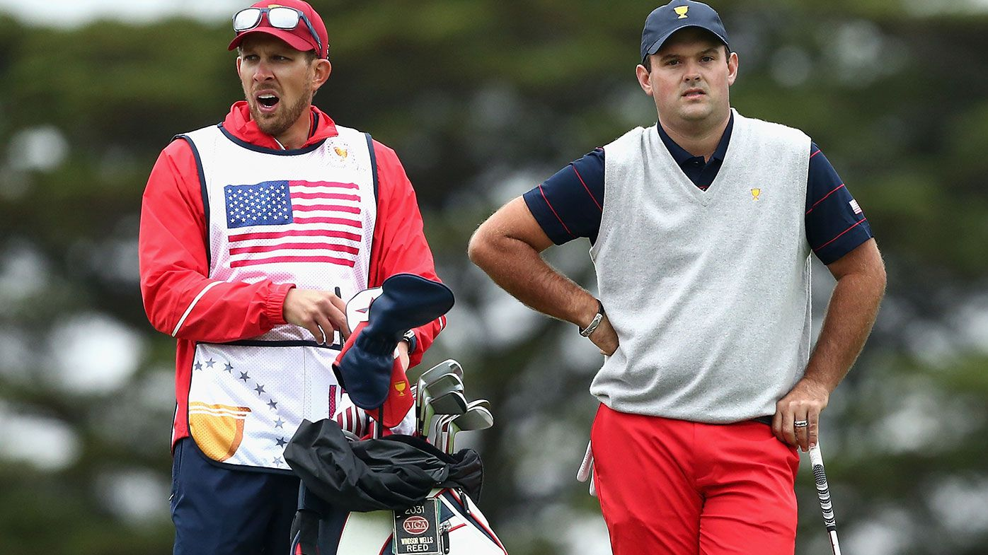 Patrick Reed's caddie reportedly punched a fan at the Presidents Cup.