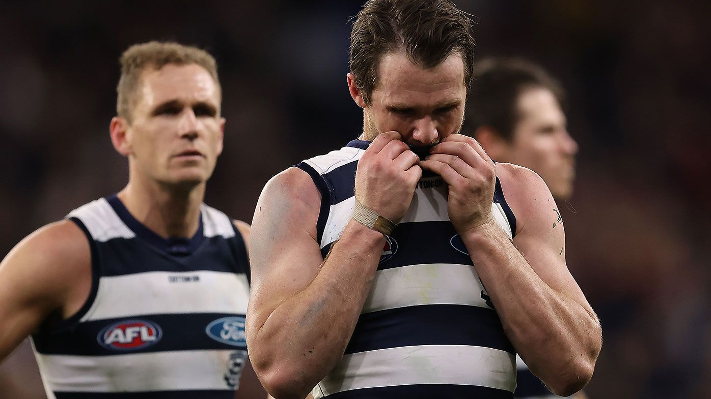 Geelong great Cameron Mooney fears lack of chances given to youth could lead to gaping list 'hole'