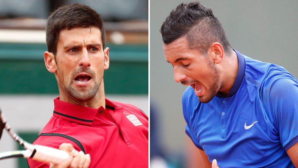 Djokovic objects to Kyrgios comments