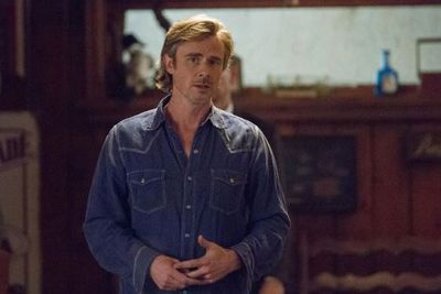 Sam Trammell looks sad to say goodbye, starring as character Sam Merlotte in the series. <br/><br/>