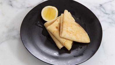 Jane de Graaff's perfect crepe recipe