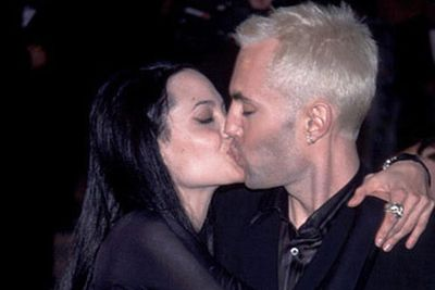 """Ange made headlines when she snogged her brother on the red carpet at the 2000 Oscars, later gushing, """"I'm so in love with my brother right now,"""" during her acceptance speech."""