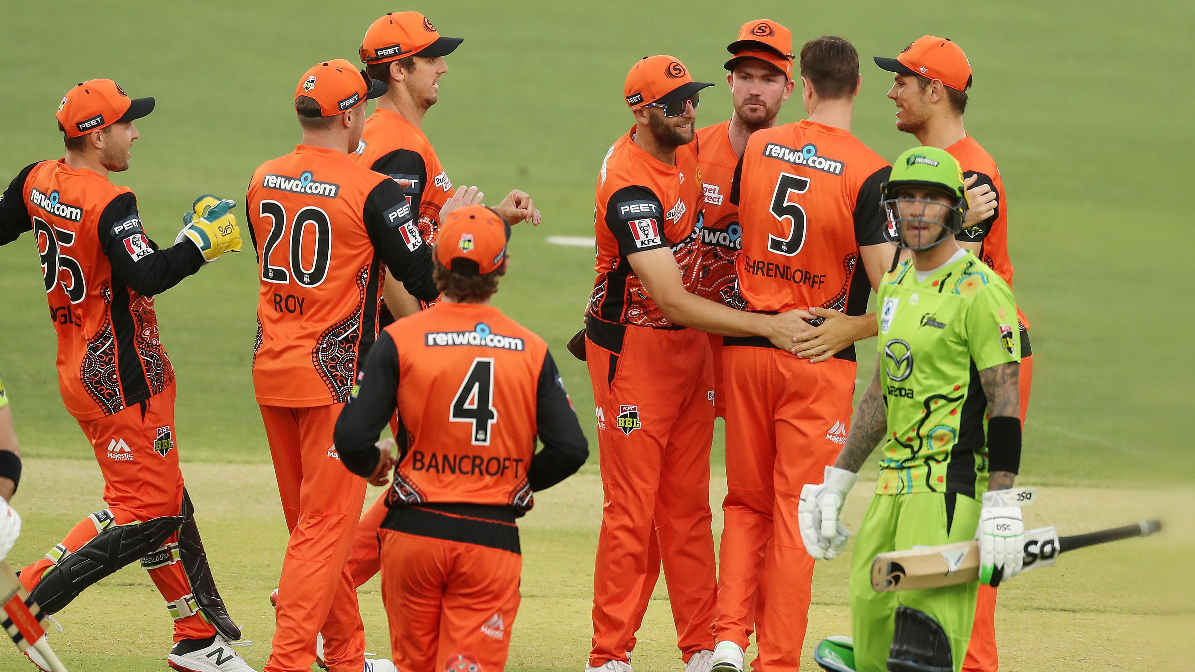 The BBL's sleeping giants Perth Scorchers continue their surge up table