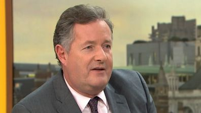 Piers Morgan brands Australia 'epitome of misogyny and sexism'