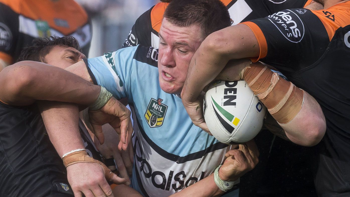 Cronulla captain Paul Gallen sparks Sharks to win over Wests Tigers