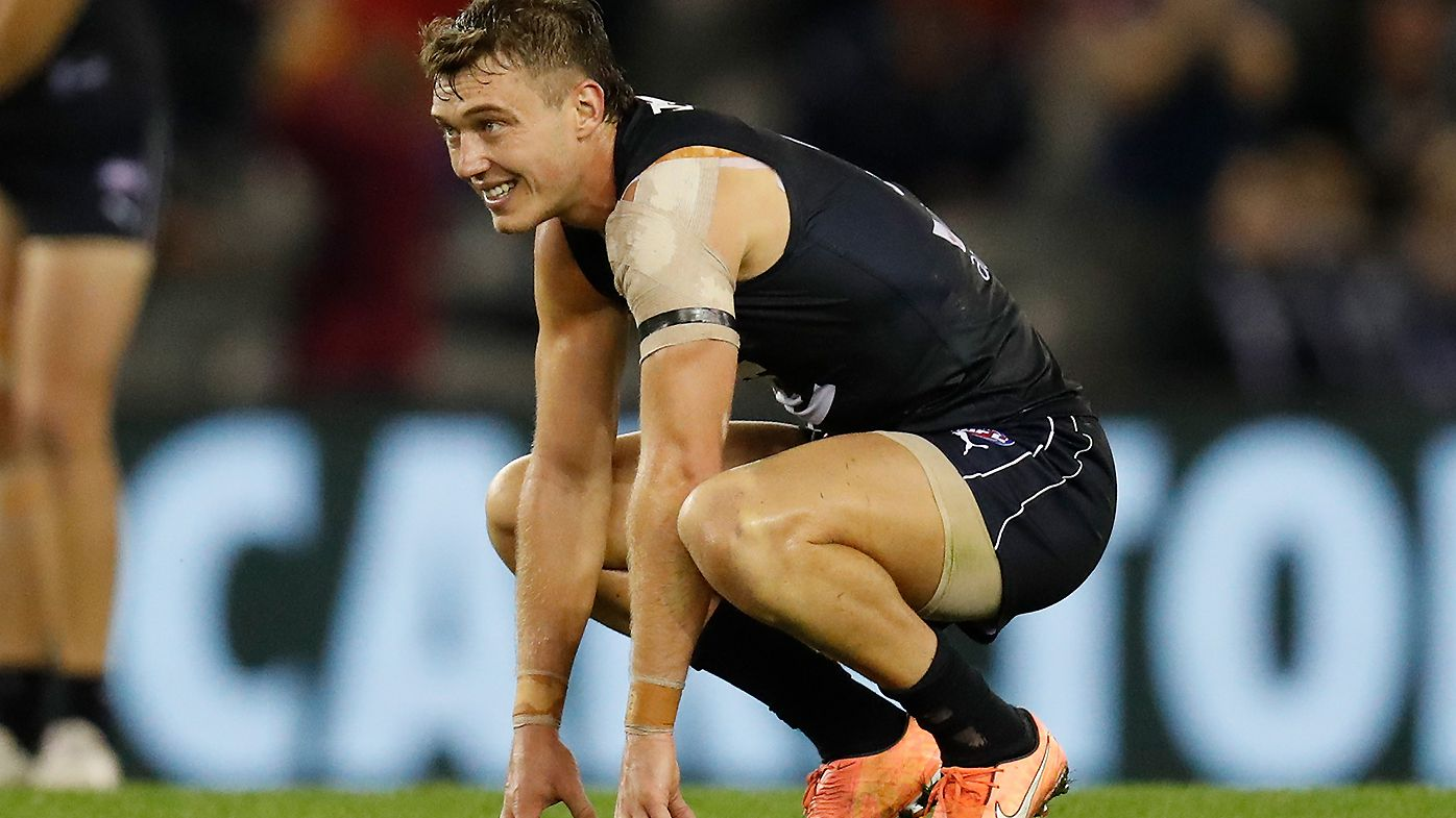 Carlton urged to prioritise re-signing Sam Walsh and Harry McKay over struggling Patrick Cripps