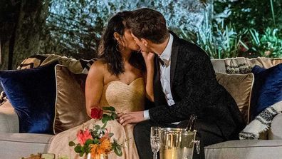 Matt Agnew reportedly takes things further than kissing during The Bachelor.
