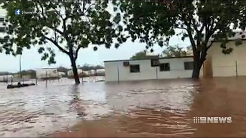 Broome is on track for its wettest year on record. (9NEWS)