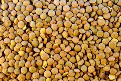 Lentils: 36mg per 100g