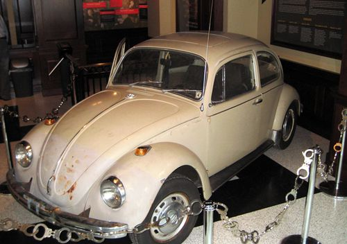 Police say as many as 11 murders took place in Ted Bundy's 1968 Volkswagen Beetle, on display through May at the National Museum of Crime & Punishment, Washington