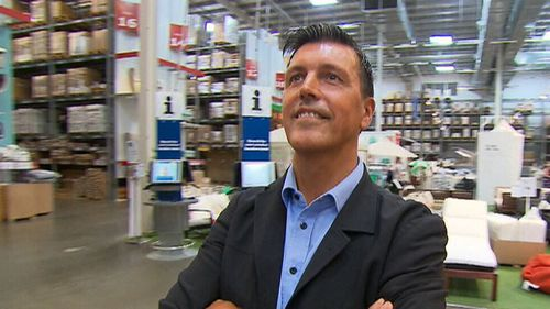 Mr Gardberg told 9NEWS Ikea has the potential to grow in Australia with another possible five or six new stores on the way (Supplied).