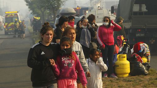 Some 200 people were evacuated from their homes as a precaution. (AAP)