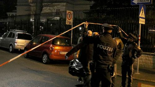 Austrian knife attacker shot dead outside ambassador's house