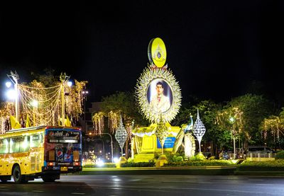 Tributes filled the streets of Bangkok to commemorate the King's Coronation over the weekend.
