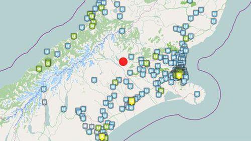 Magnitude 6.4 earthquake hits New Zealand South Island