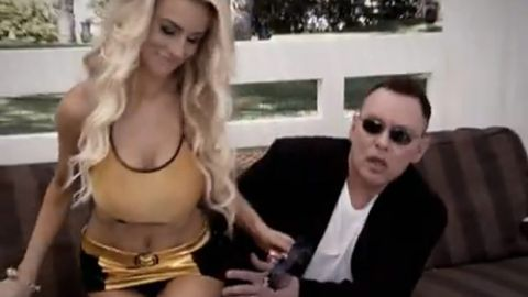 'Did you just call my wife trash?' Courtney Stodden and her creepy husband make reality TV debut