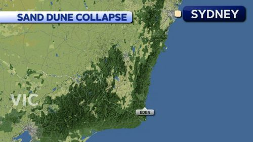Terrace Beach at Eden is on the far south coast of NSW. (9NEWS)