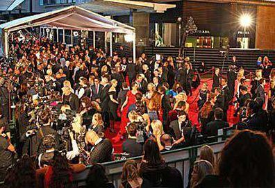 Logie Awards red carpet (Getty)