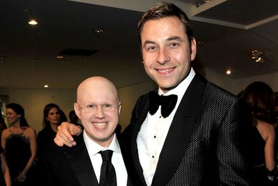 In real life <i>Little Britain</i>'s creators look... disturbingly normal. Matt Lucas has alopecia — meaning he doesn't grow any hair — but that's as unusual as this pair gets.