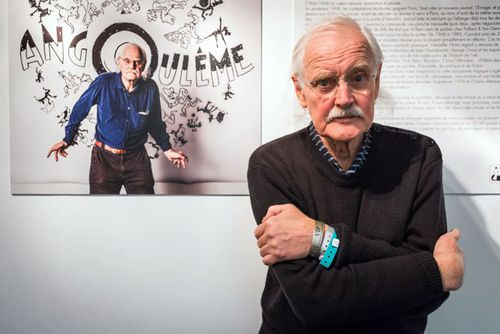 President of the 41st edition of the 'Festival international de la bande dessinee' (International Comic Book Festival), Dutch comic book author Bernard Willem Holtrop, aka Willem, poses during the festival in Angouleme, France. (Getty)