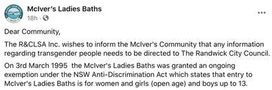 McIver's Ladies Baths