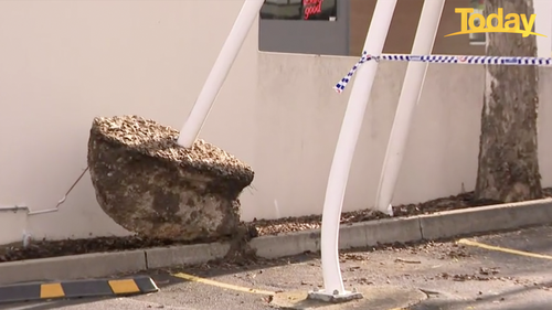 A massive clean-up operation is underway at Westfields at Mount Druitt.