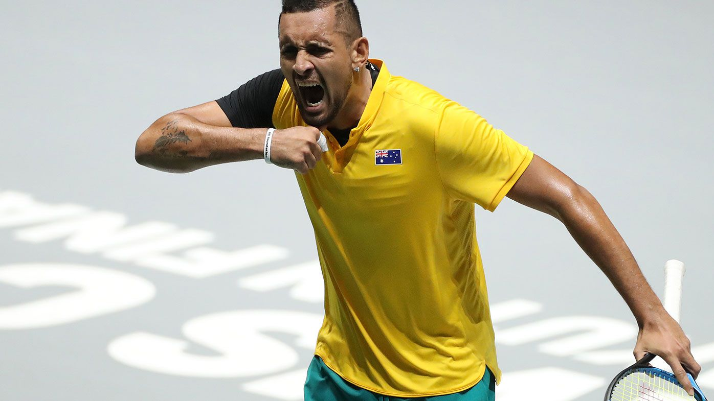 Cash: 'Very opposed' to courtside coaching but it would help Kyrgios