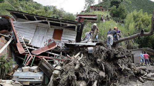 Dozens killed in Colombia landslide